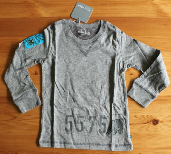 T-Shirt Vito 16 mountain grey Gr��e 92-128